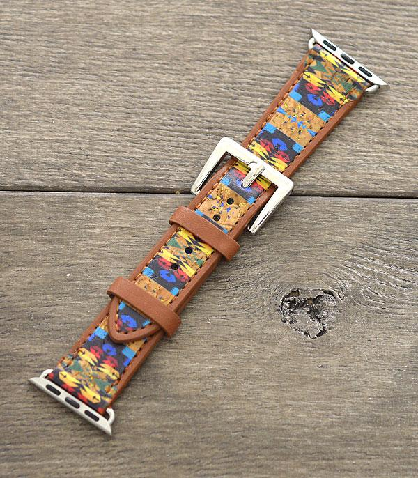 <font color=Green>FEATURES</font> :: APPLE WATCH BAND :: Wholesale Western Navajo Apple Watch Band