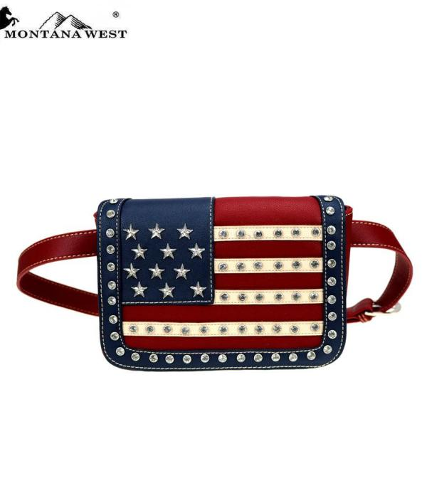 <font color=BLUE>RED,WHITE, AND BLUE</font> :: Wholesale Montana West American Pride Collection