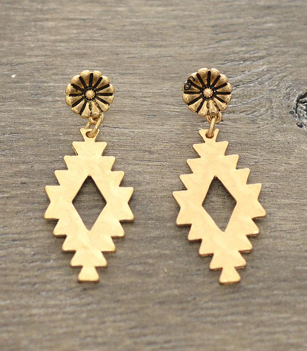 New Arrival :: Wholesale Navajo Pattern Earrings