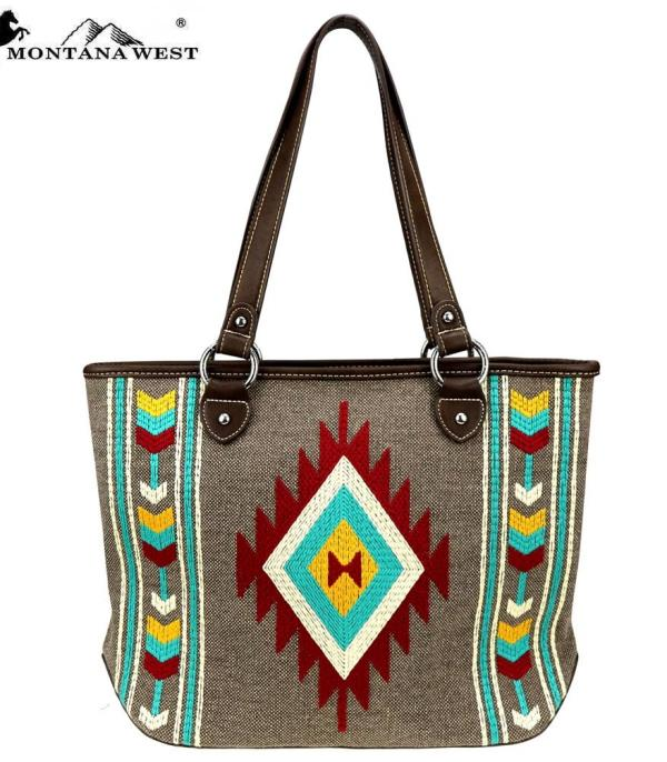 New Arrival :: Wholesale Montana West Aztec Tote