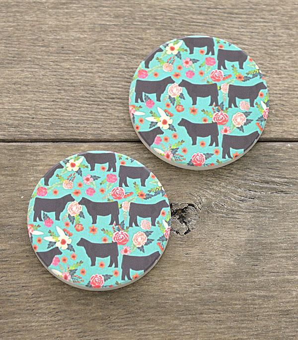 New Arrival :: Wholesale Farm Animal Car Coaster Set