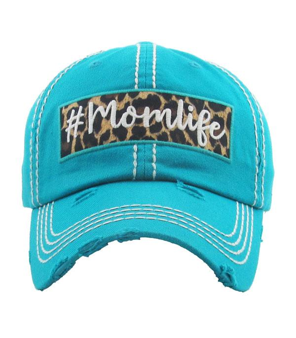 WHAT'S NEW :: Wholesale Momlife Leopard Vintage Ballcap
