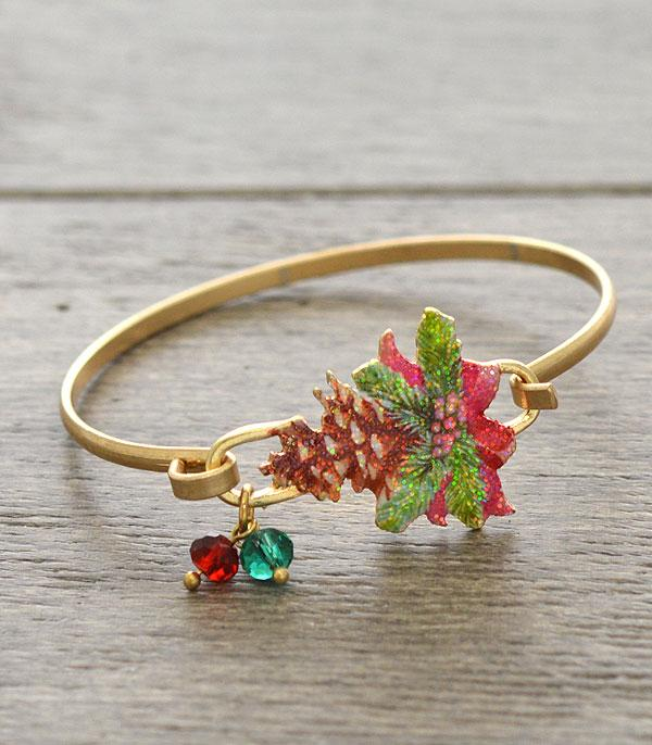 New Arrival :: Wholesale Christmas Theme Wire Bracelet