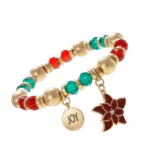 New Arrival :: Wholesale Christmas Theme Charm Bracelet