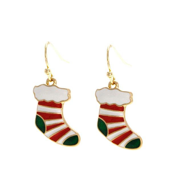 New Arrival :: Wholesale Christmas Theme Earrings