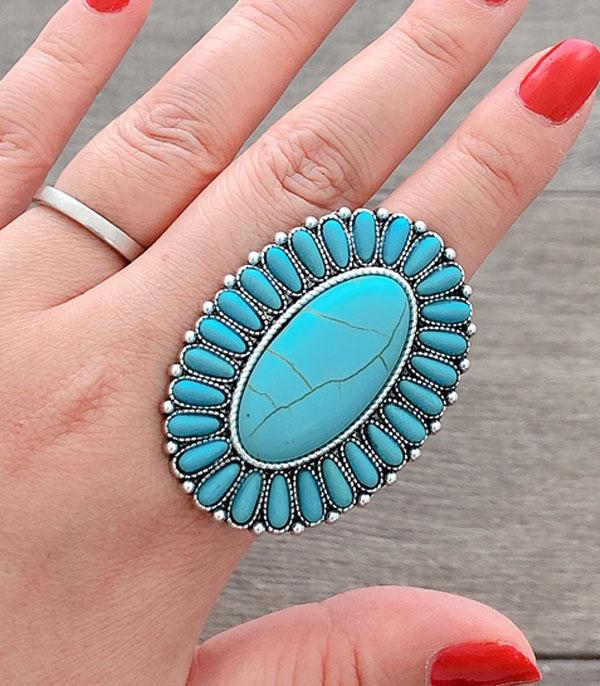 <font color=Turquoise>TURQUOISE JEWELRY</font> :: Wholesale Turquoise Stone Cuff Ring