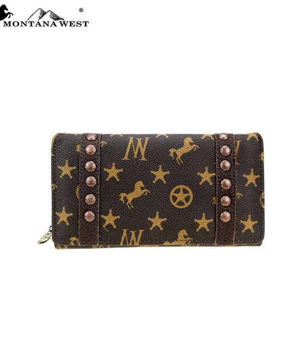 New Arrival :: Montana West Signature Monogram Collection Wallet