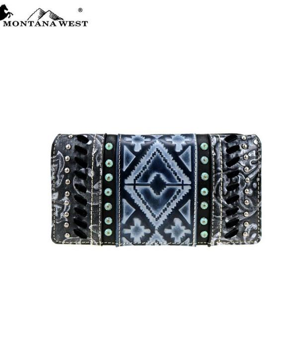 New Arrival :: Wholesale Montana West Aztec Wallet