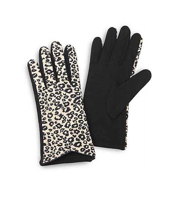 GLOVES/ARM WARMERS :: Wholesale Leopard Print Gloves