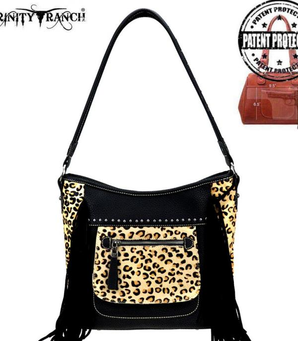 New Arrival :: Wholesale Leopard Leather Concealed Carry Bag