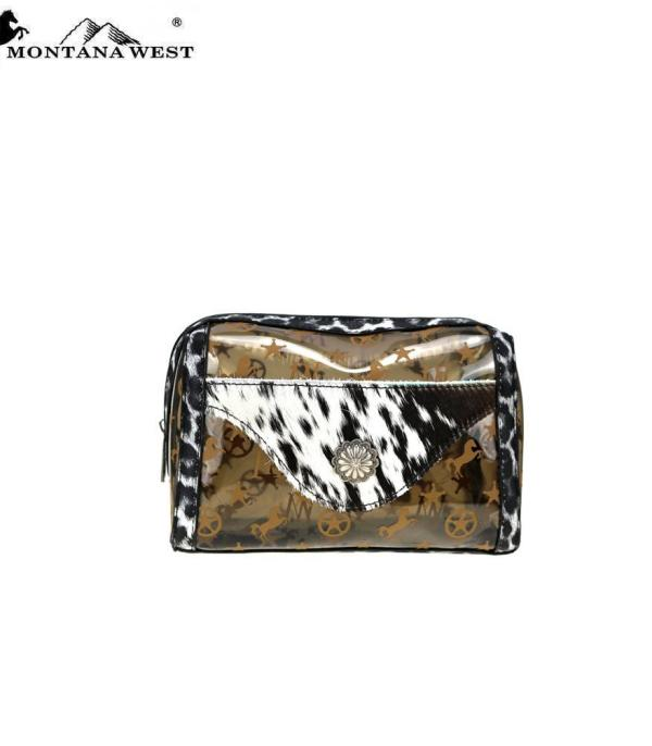 New Arrival :: Wholesale Montana West Clear Travel Pouch