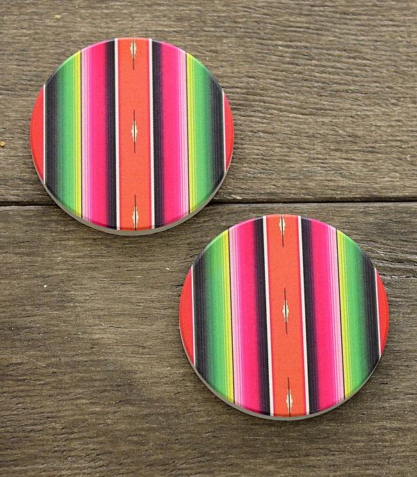 New Arrival :: Wholesale Serape Car Coaster Set