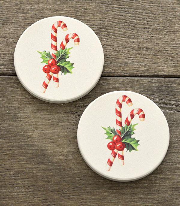 New Arrival :: Wholesale Christmas Car Coaster Set