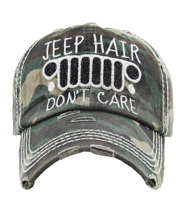 New Arrival :: Wholesale Jeep Hair Vintage Hat