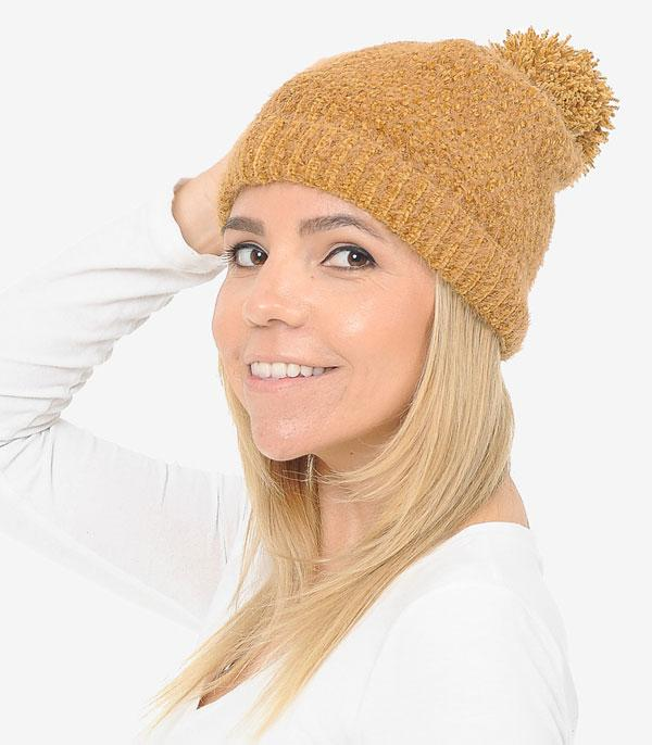 New Arrival :: Wholesale Super Soft Pom Beanie