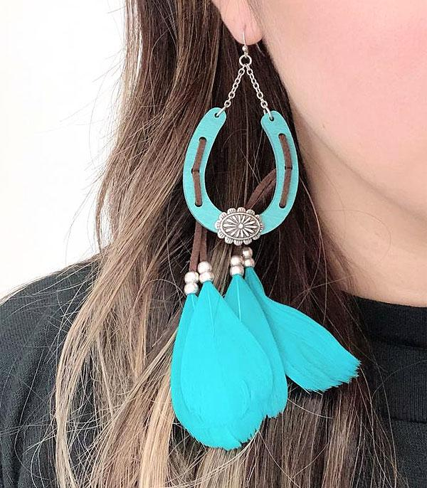 WHAT'S NEW :: Wholesale Wood Feather Earrings