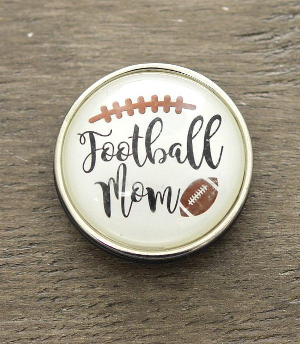 PHONE ACCESSORIES :: Wholesale Football Mom Bubble Glass Phone Grip