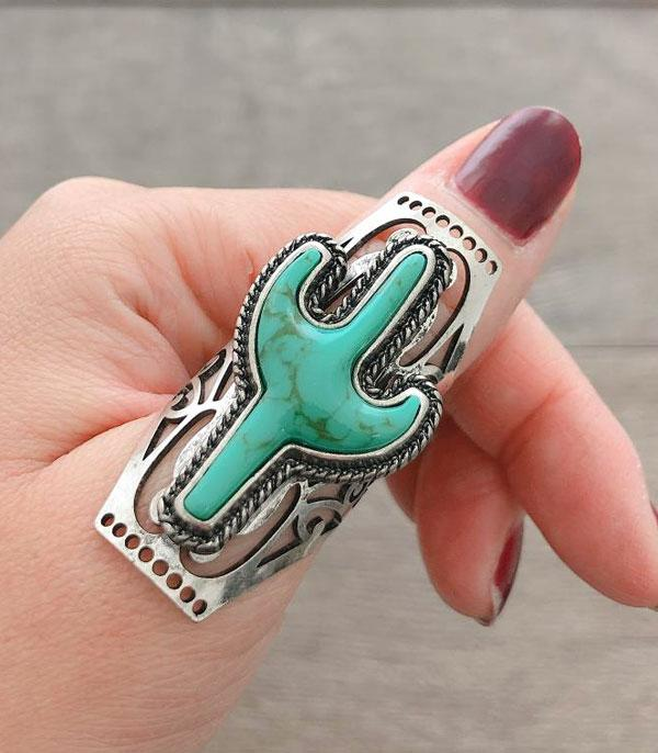 <font color=Turquoise>TURQUOISE JEWELRY</font> :: Wholesale Cactus Turquoise Ring