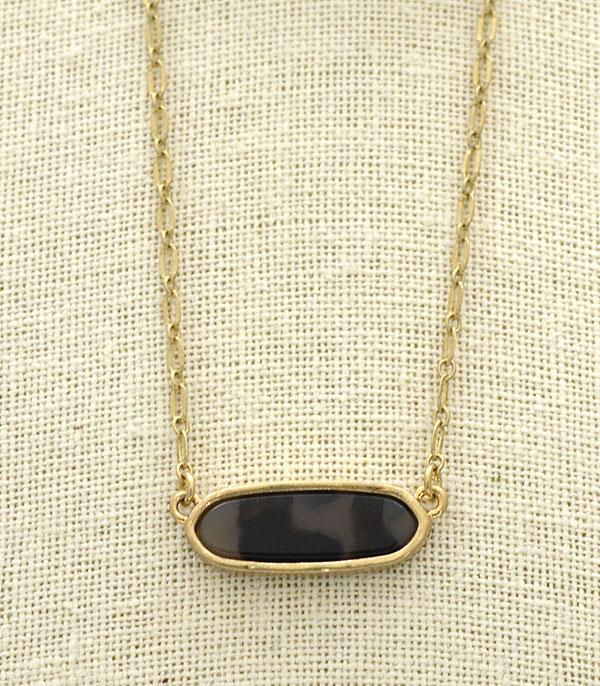 WHAT'S NEW :: Wholesale Tortoise Bar Necklace