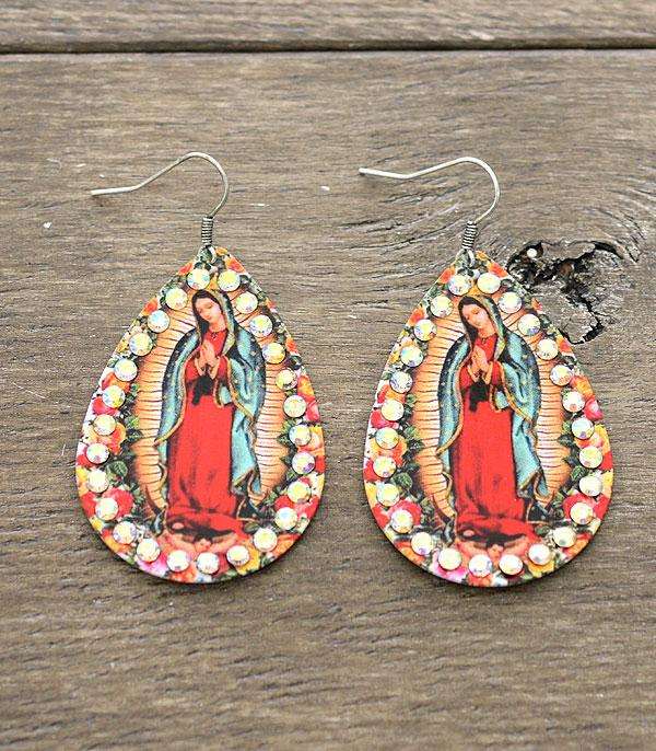 WHAT'S NEW :: Wholesale Lady Of Guadalupe Earrings