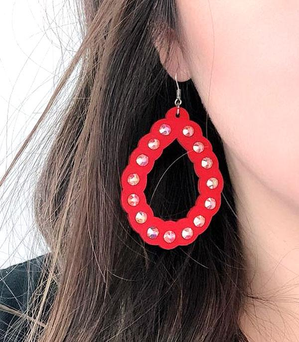 WHAT'S NEW :: Wholesale Tear Drop Wood Earrings