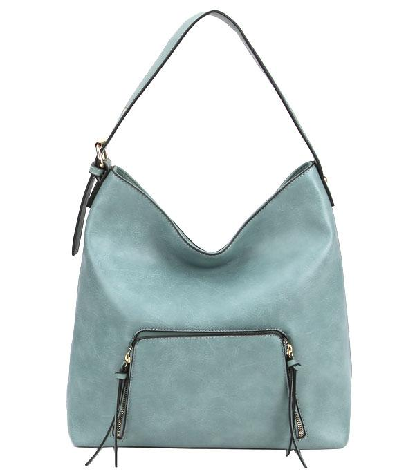 WHAT'S NEW :: Wholesale Soft Faux Leather Hobo Bag