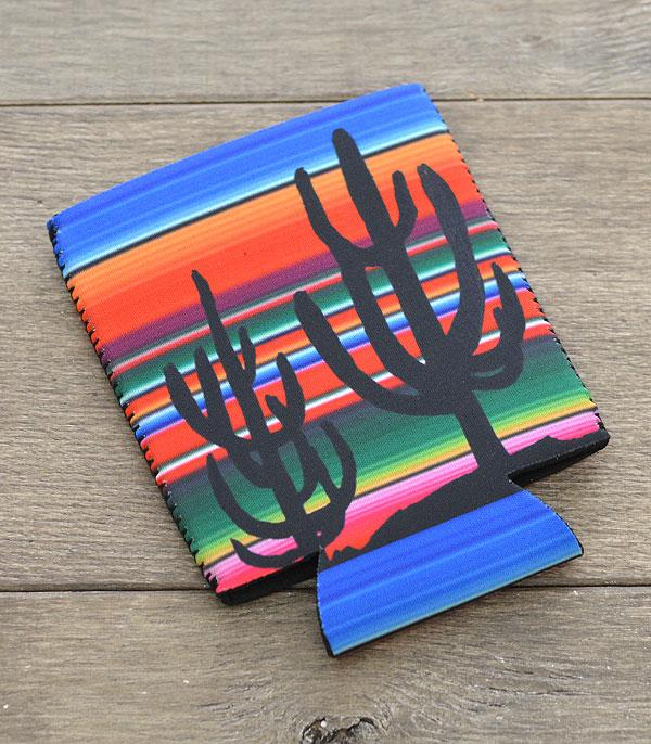 New Arrival :: Wholesale Cactus Serape Drink Sleeve