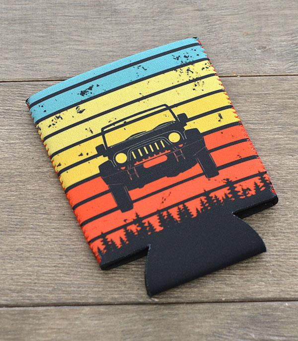 New Arrival :: Wholesale Jeep Design Drink Sleeve