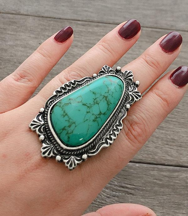 New Arrival :: Wholesale Turquoise Western Ring