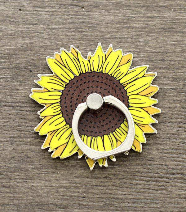 New Arrival :: Wholesale Sunflower Phone Grip