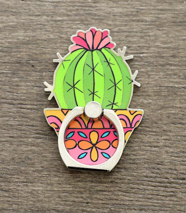New Arrival :: Wholesale Cactus Phone Grip