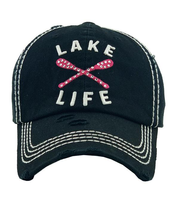 New Arrival :: Wholesale Lake Life Vintage Ballcap