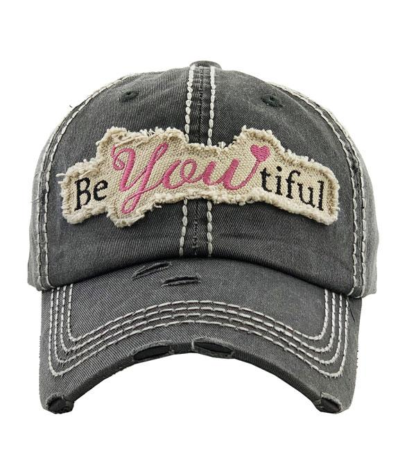 New Arrival :: Wholesale Beyoutiful Vintage Ballcap
