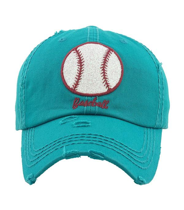 New Arrival :: Wholesale Glitter Baseball Vintage Hat
