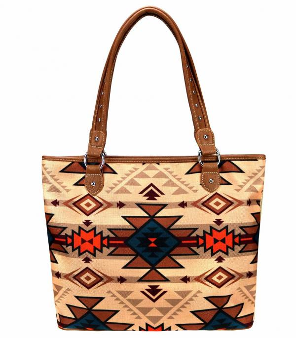 New Arrival :: Wholesale Aztec Canvas Tote Bag