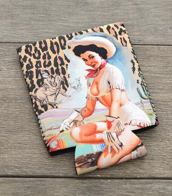 New Arrival :: Wholesale Western Cowgirl Drink Sleeve
