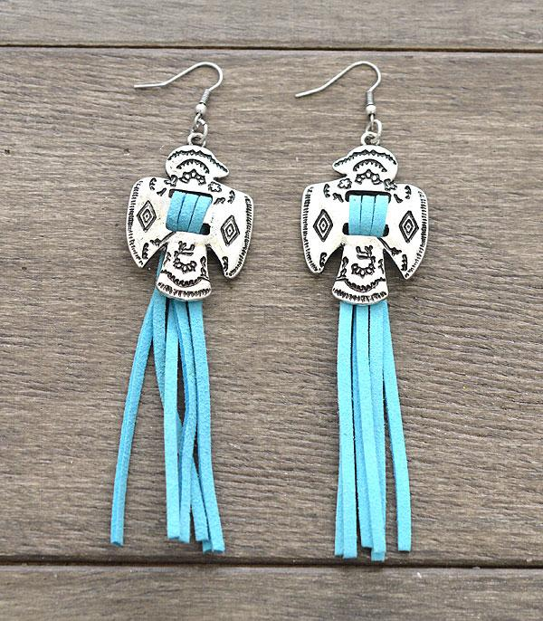 New Arrival :: Wholesale Thunderbird Tassel Earrings
