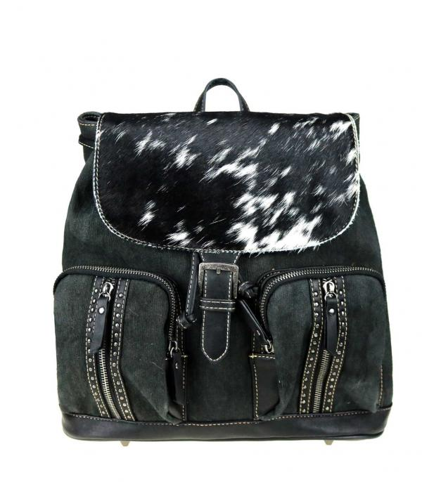 New Arrival :: Wholesale Trinity Ranch Hair-On Leather Backpack