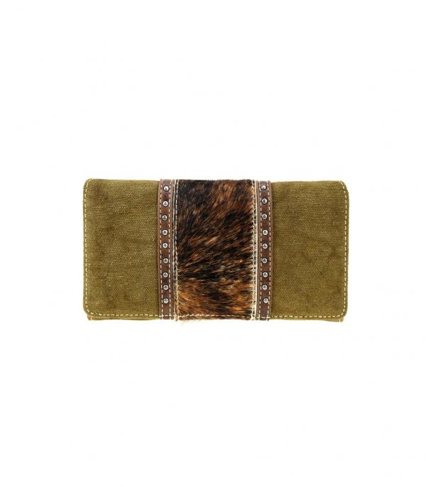 New Arrival :: Wholesale Trinity Ranch Cowhide Wallet