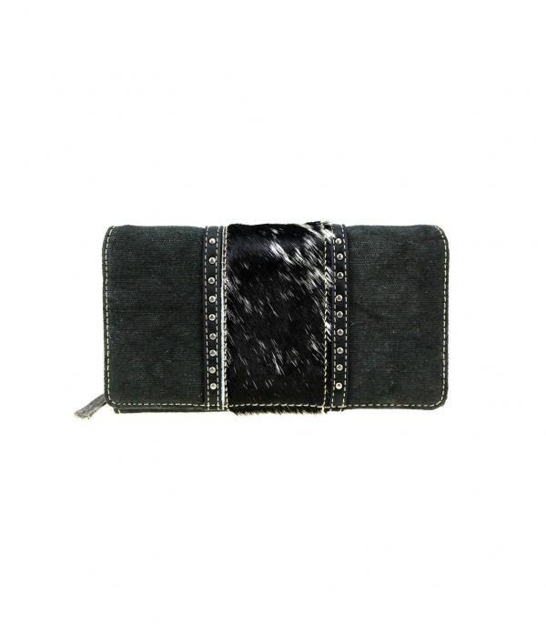 New Arrival :: Wholesale Trinity Ranch Hair-On Cowhide Wallet