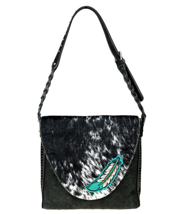 New Arrival :: Wholesale Trinity Ranch Cowhide Crossbody Bag