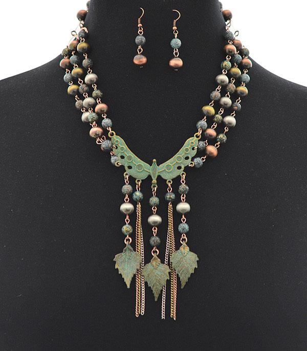 New Arrival :: Wholesale Navajo Pearl Statement Necklace