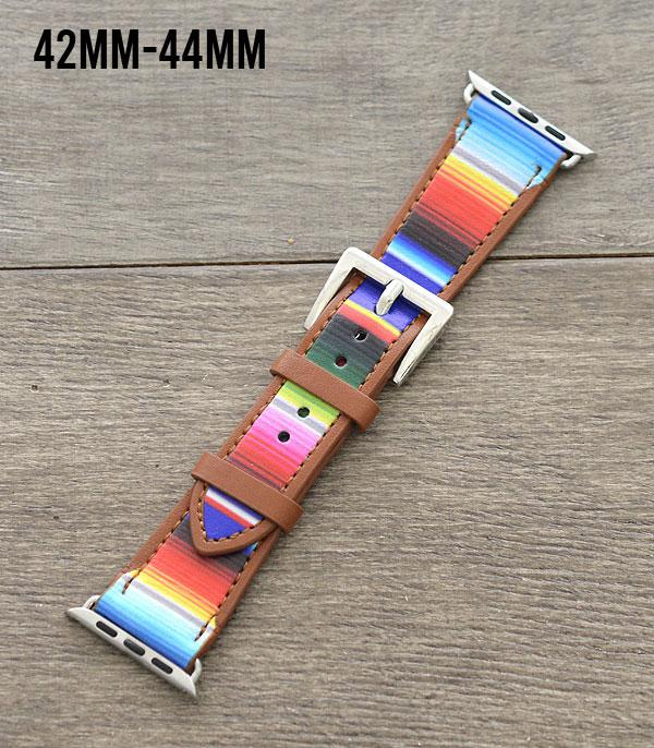 New Arrival :: Wholesale Serape Print Apple Watch Band