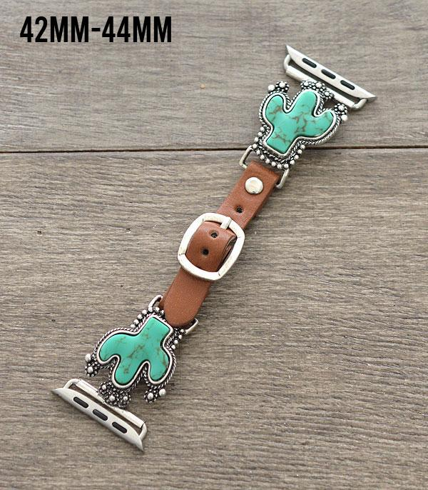 New Arrival :: Wholesale Turquoise Cactus Apple Watch Band
