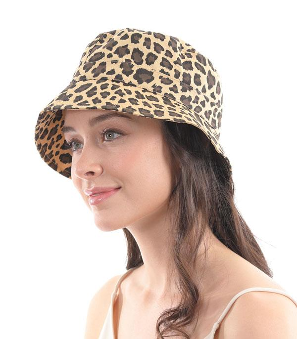 New Arrival :: Wholesale Leopard Print Bucket Hat
