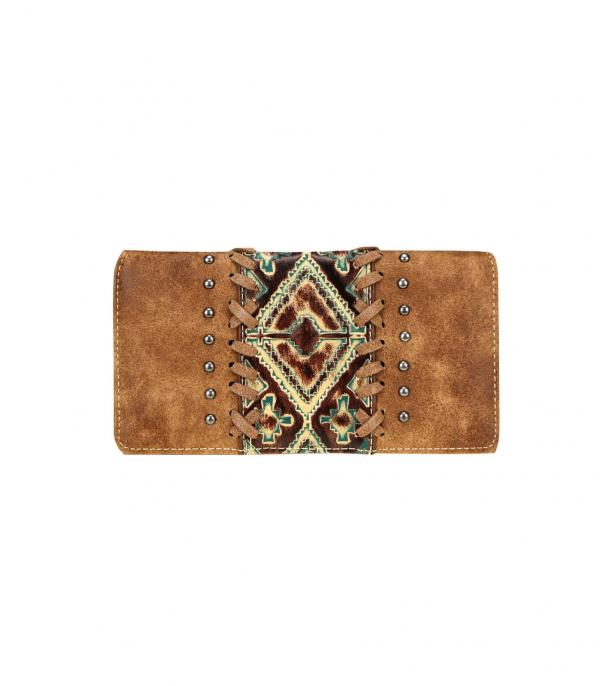 New Arrival :: Wholesale Trinity Ranch Embossed Wallet