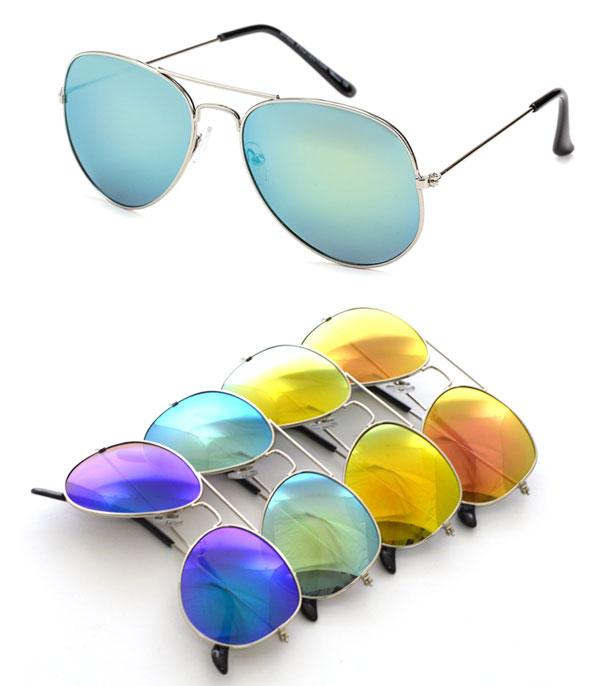 New Arrival :: Wholesale Aviator Dozen Pack Sunglasses