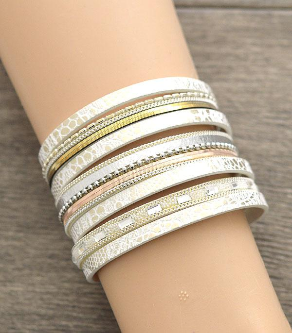 New Arrival :: Wholesale Multi Strand Magnetic Bracelet