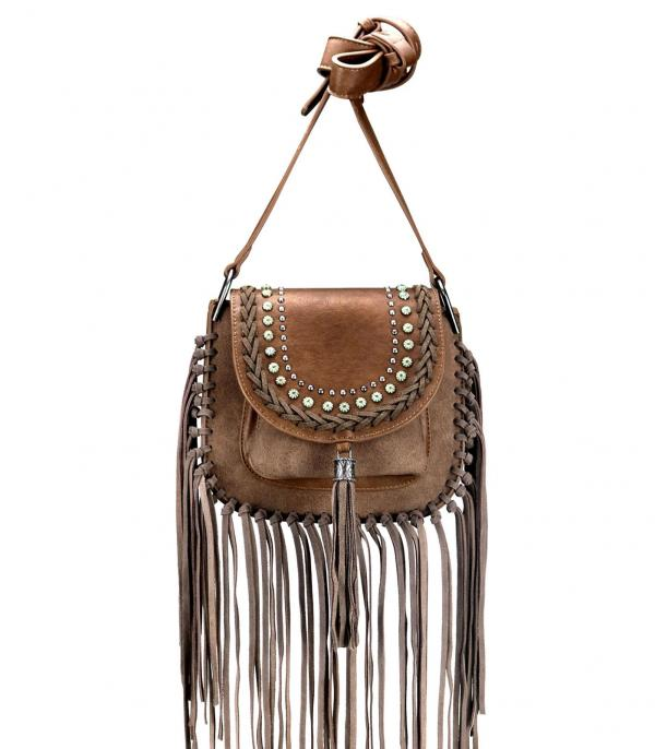 New Arrival :: Wholesale Montana West Fringe Crossbody Bag