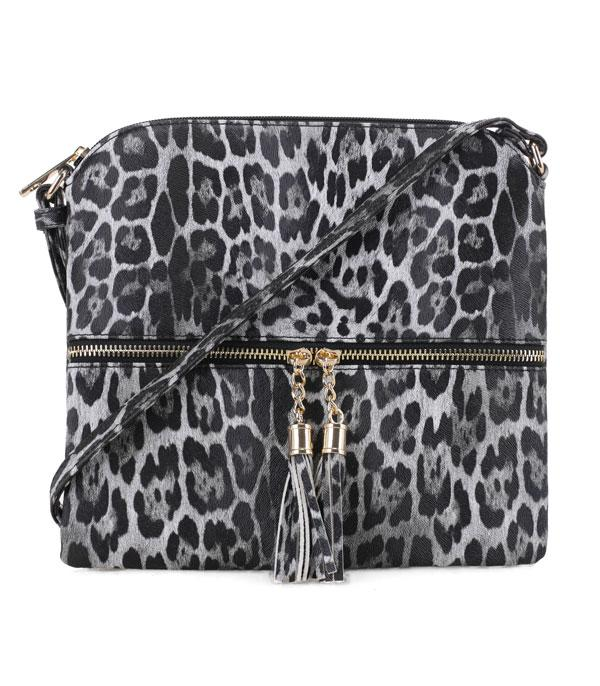 New Arrival :: Wholesale Leopard Print Crossbody Bag